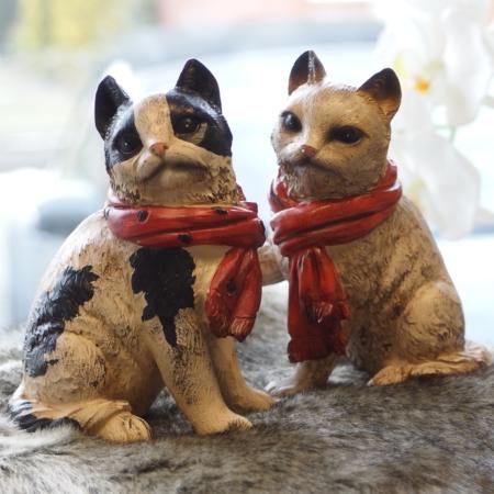 Deko-Katzen (Tiere suchen ein zuhause)